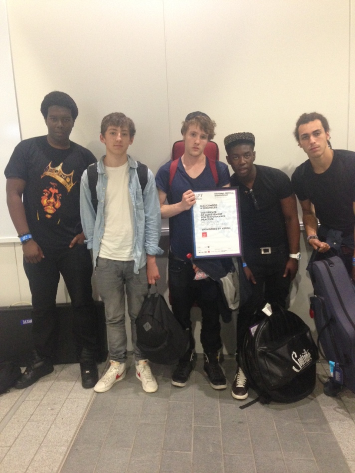 Ezra win National Festival for Music For Youth