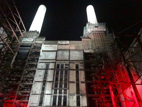 Inside Battersea Power Station at the Evening Standard The Power 1000 Party