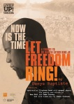 Denys Baptiste Now Is The Time...Let Freedom Ring flyer