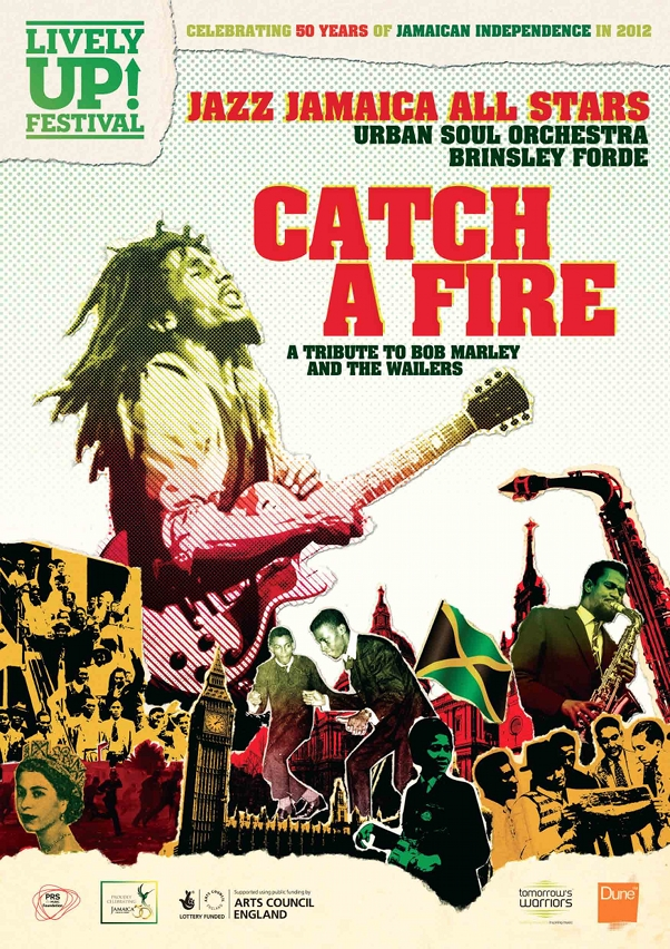 Catch A Fire flyer