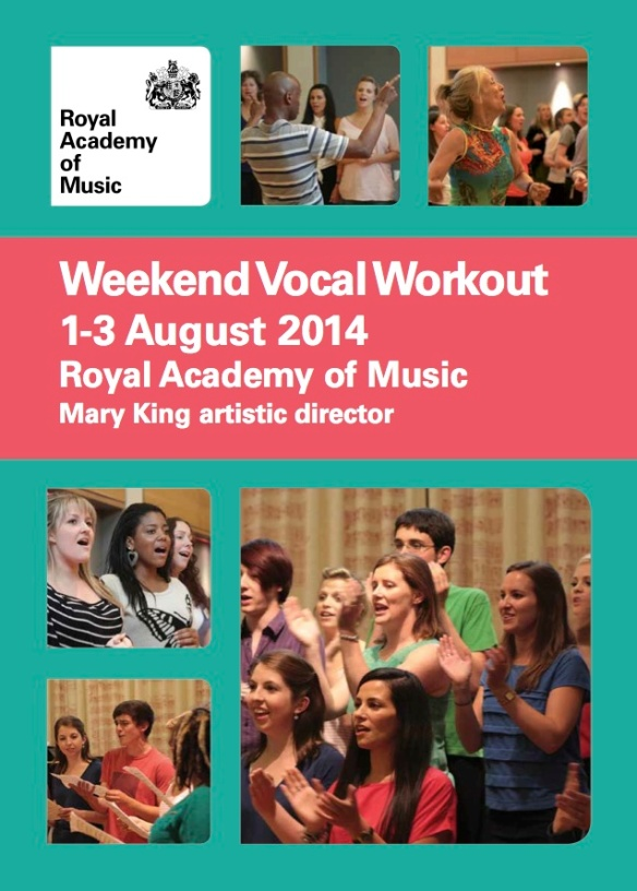 Royal Academy of Music Vocal Workout