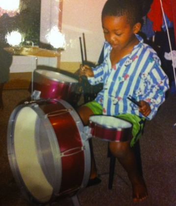 Tomorrow's Warriors musician as a child