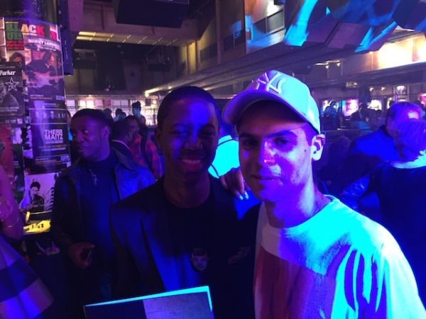 Binker + Moses at the MOBOs 2015