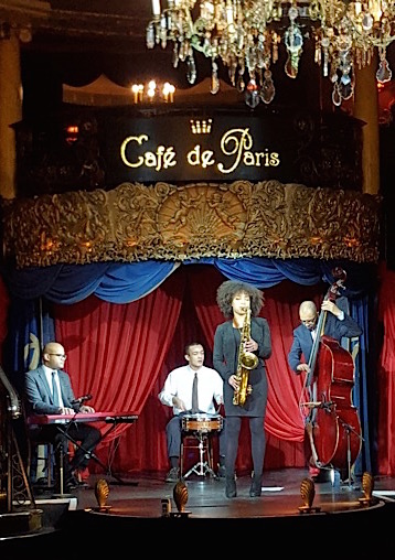 Tomorrow's Warriors - Gary Crosby + The Jazz Salon House Band - Cafe De Paris - BBC TV The One Show