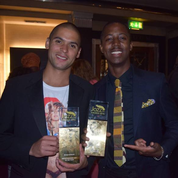 Binker + Moses at JazzFM Awards 2016