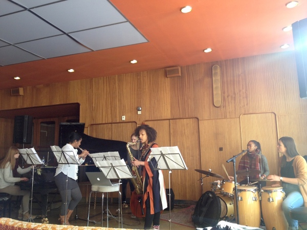 Nerija with Voss Jazzskule