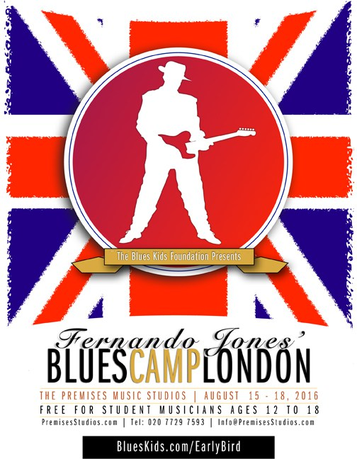 Blues Camp London 2016