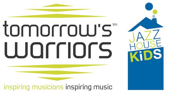 Tomorrow's Warriors + Jazz House Kids combined logos