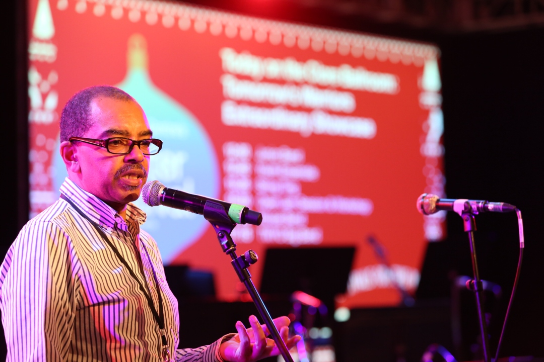 Gary Crosby OBE at Tomorrow's Warriors Showcase at Southbank Centre, London