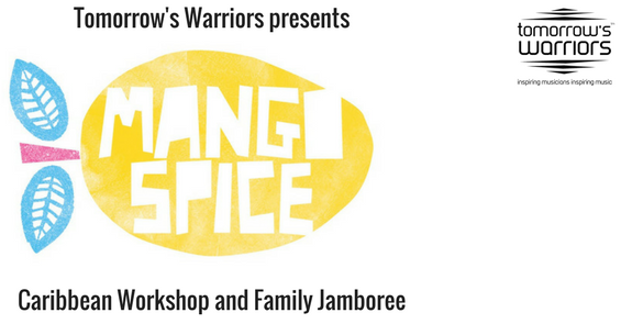 ©Tomorrow's Warriors Mango Spice Logo