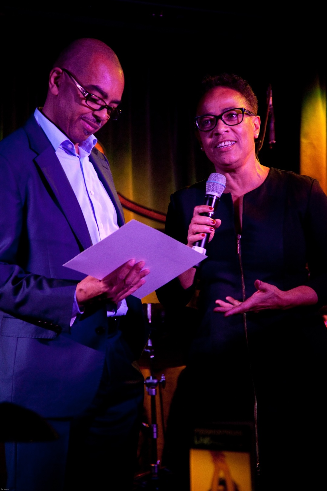 Gary Crosby and Janine Irons - Parliamentary Awards 2017