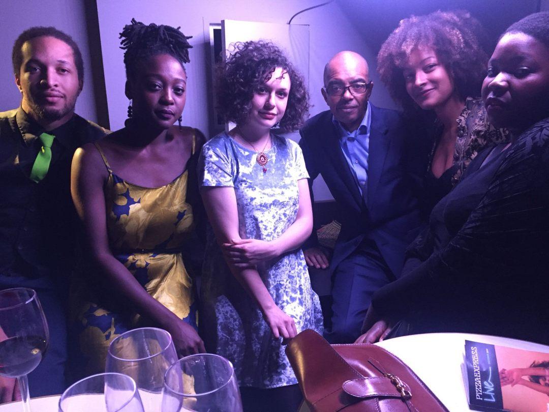 Gary Crosby with members of Nerija at Parliamentary Jazz Awards 2017