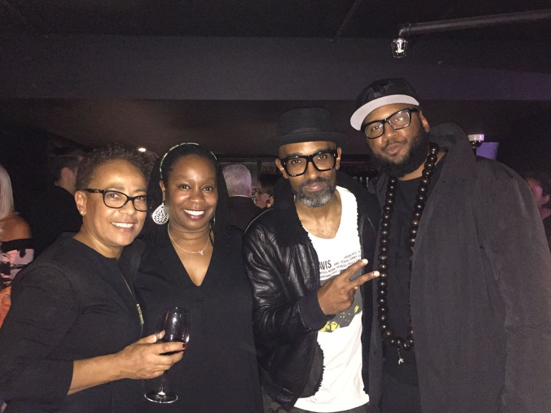 Janine Irons with Jazz Refreshed crew