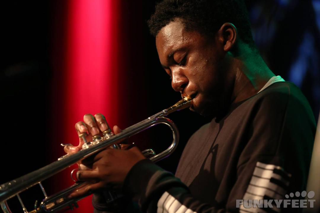 Tomorrow's Warriors - Ife Ogunjobi - trumpet - ©Funkyfeet Photography
