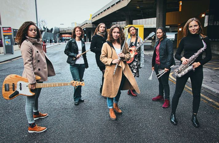 Tomorrow's Warriors Female Frontline band of young female jazz musicians