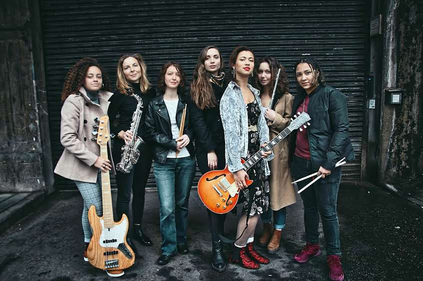 Tomorrow's Warriors Female Frontline group of young female jazz musicians