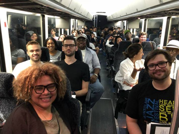Coach ride to Newport