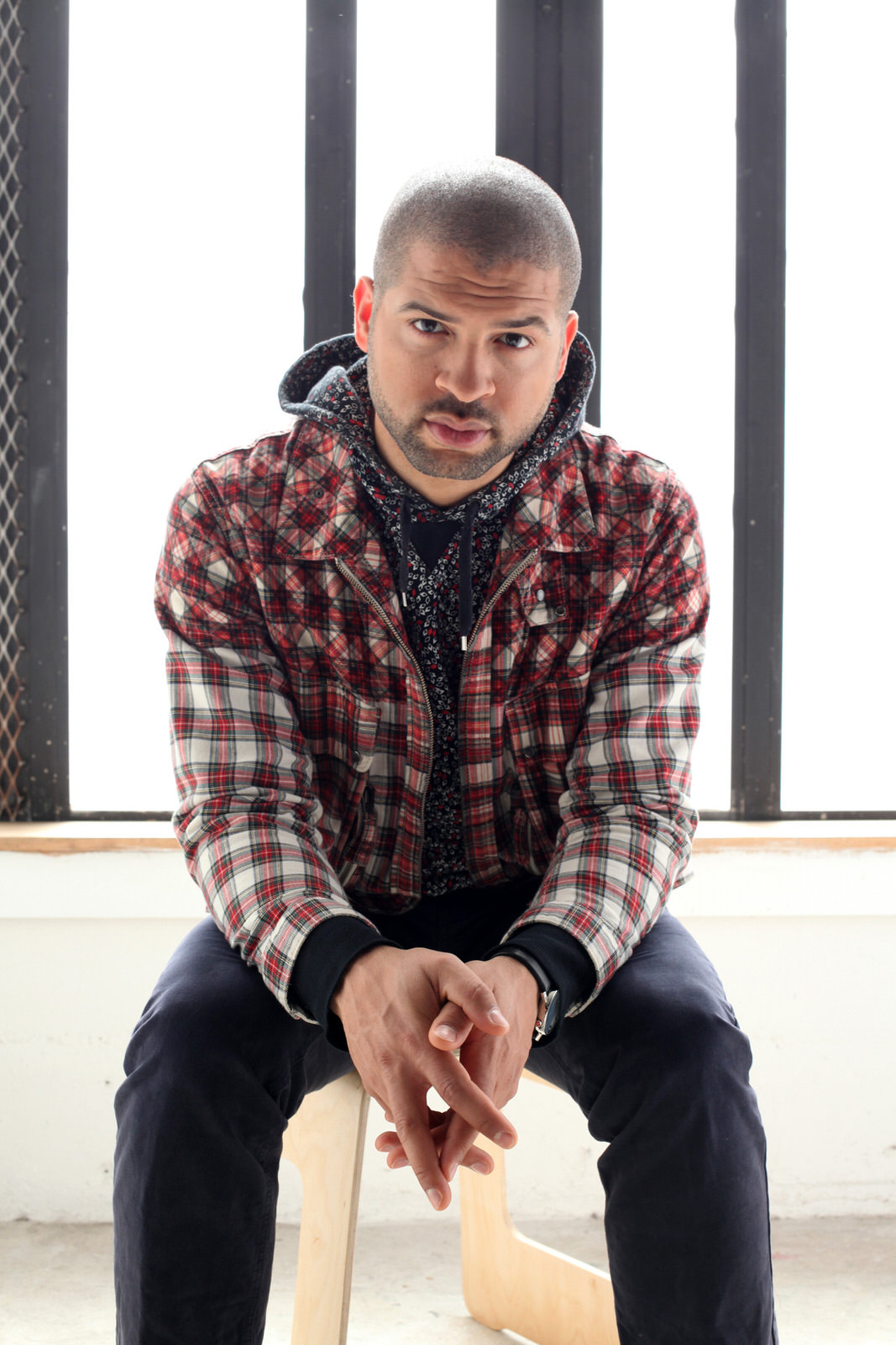 Jason Moran seated