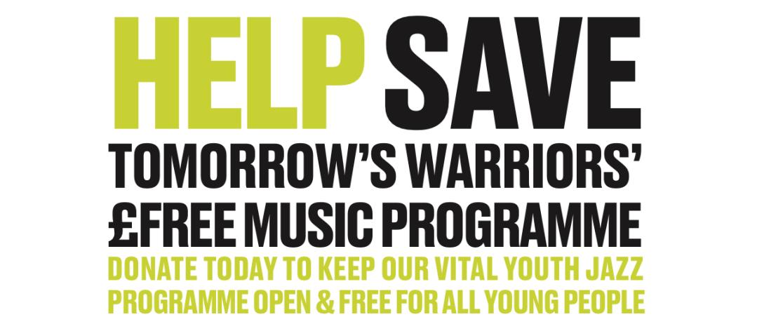 #IAmWarrior-Help Save Tomorrow's Warriors Music Programme